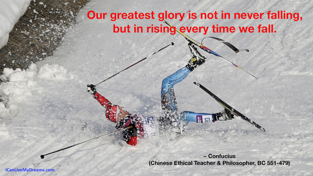 Confucious quote - Our greatest glory